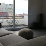Cagliari Holiday Apartment Giardini 15,,Living room and Kitchen