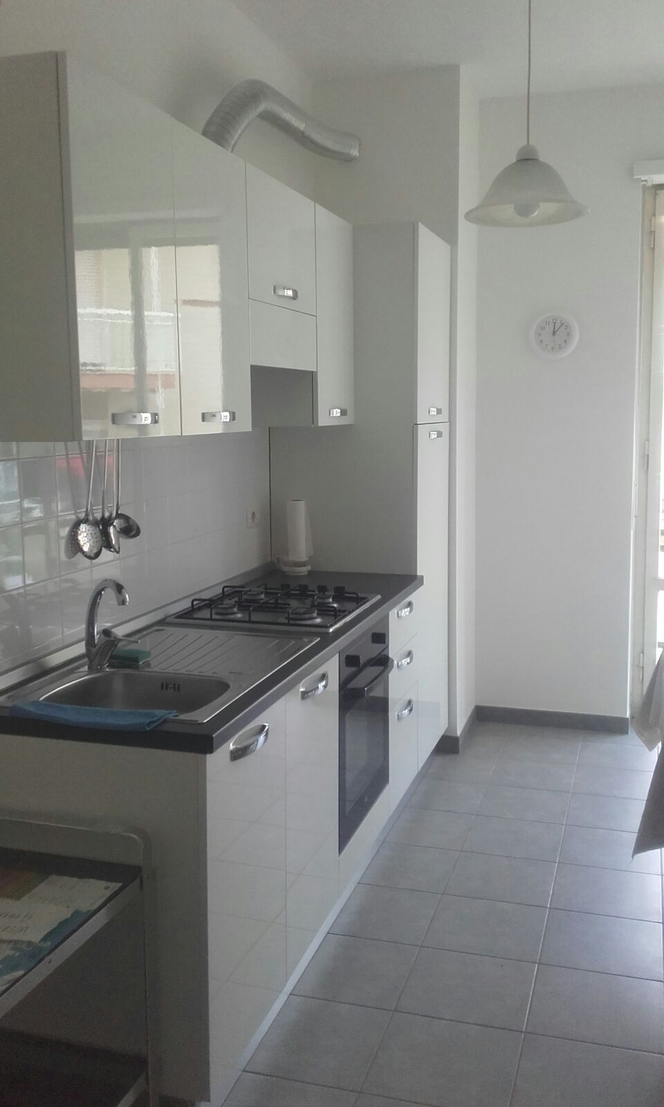 Kitchen of Cagliari Holiday Home Saturnino 103